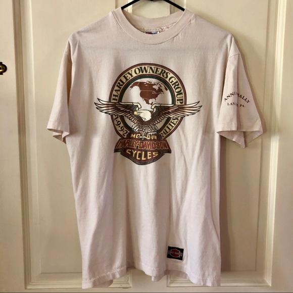 Harley-Davidson Tops - VINTAGE Harley Davidson T-shirt 1992